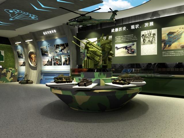 某部队展厅设计