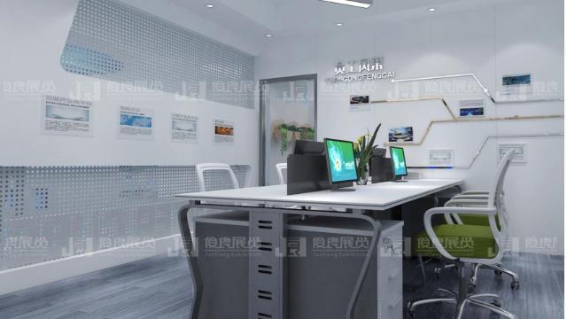 广西智慧展厅设计:怎么把小展厅设计得高大上?