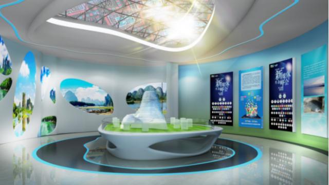 广西展厅设计公司怎么实现智慧医疗