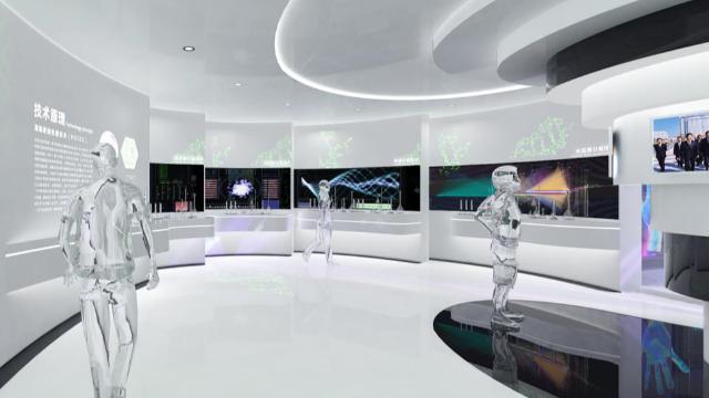 广西企业展厅设计之前要先了解的三个设计要点