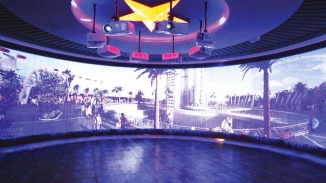 互动多媒体在科技展厅设计中的应用