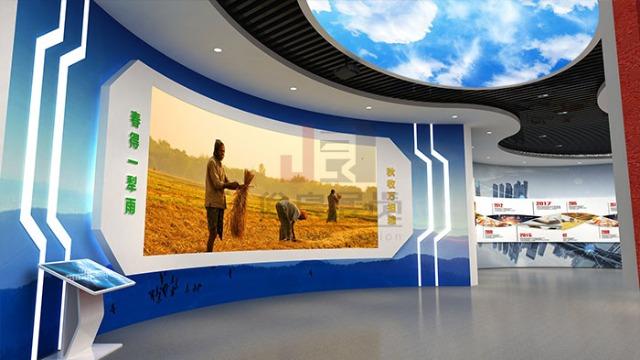 智慧展厅设计怎么融入人文元素