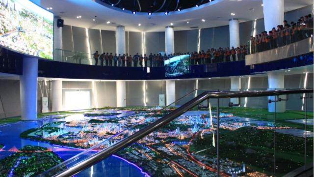 科技展厅设计中的数字沙盘制作成本为什么那么高?