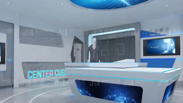 中源方阵企业展厅设计方案