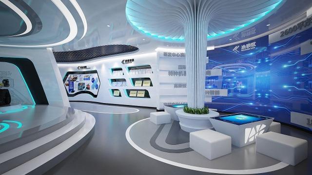 智慧展厅设计对于企业有什么作用?