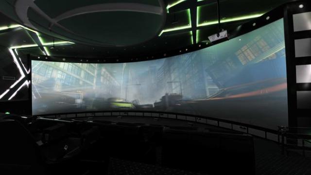 智慧展厅设计中地面投影什么问题会影响效果?