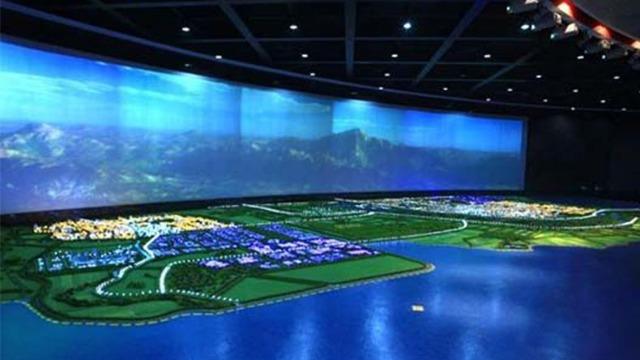 科技展厅设计中数字沙盘应用范围