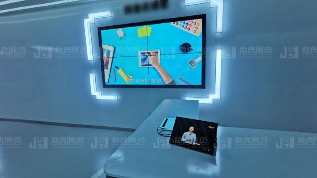 智慧展厅设计该备的一套互动答题系统