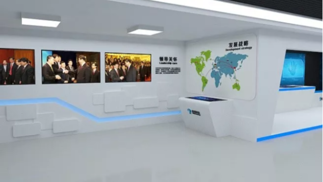 俊良科技展厅设计与策划优势