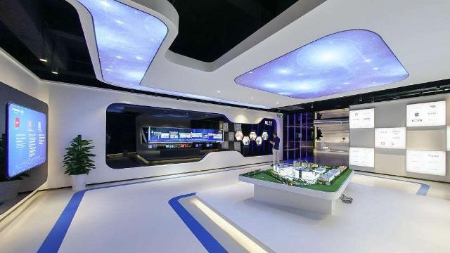 企业展厅设计一定要融入企业文化