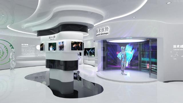 数字多媒体展厅的空间设计