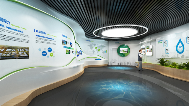 智慧展厅设计怎样在现代技术支撑下体现时尚感