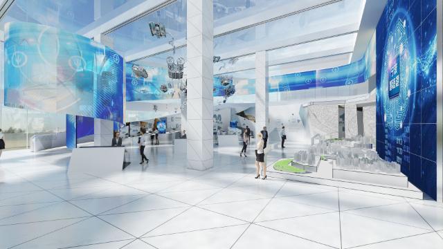 企业展厅设计中的灵魂是什么呢