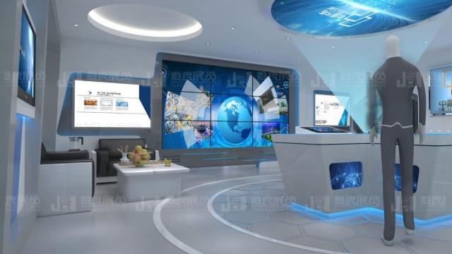 数字多媒体展厅中有这几种空间类型