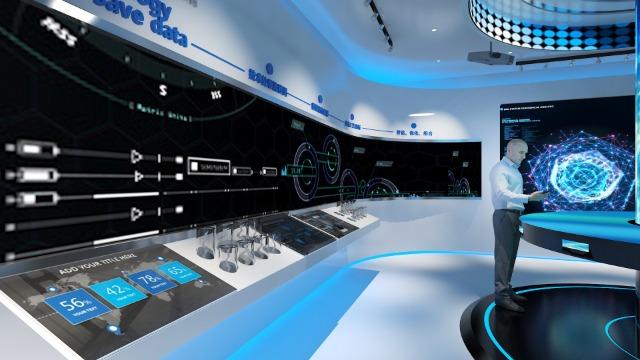 智慧展厅设计施工数字应选用哪些设备