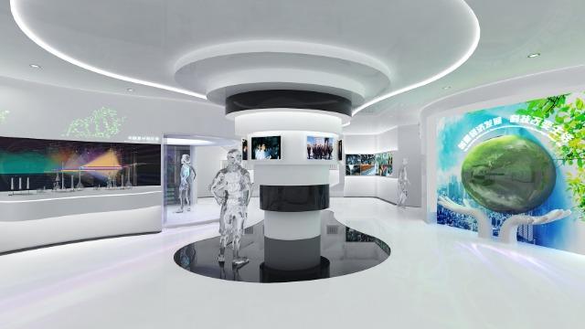 科技展厅设计公司分享科技展厅的优势