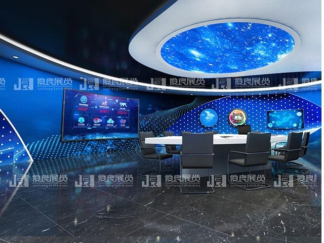 荣辉科技展厅设计