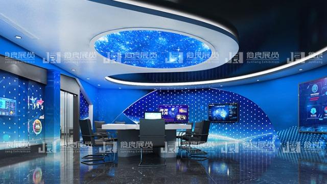 数字多媒体展厅实现现代化与未来感一站式体验