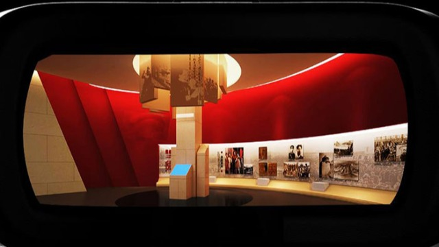 虚拟展厅设计可以和实际展厅相结合