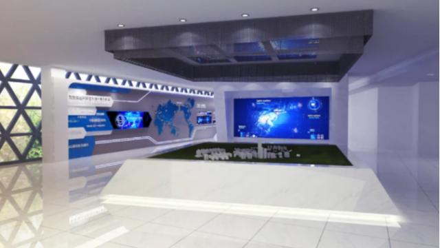 数字展厅设计怎么有效的展示空间美感