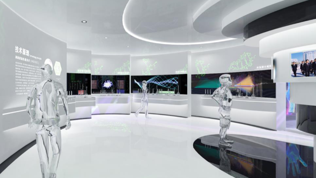 科技展馆设计在视觉上运用什么样的技术?