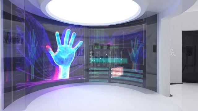 科技展厅设计公司:展厅空间构成的形式