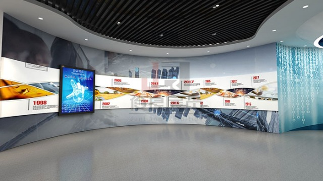 科技展厅设计公司展厅设计一般加入哪些多媒体元素