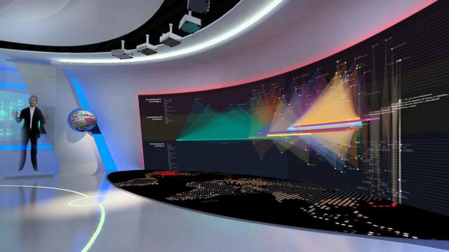 数字多媒体展馆设计注重色彩有什么作用