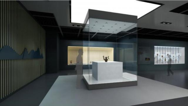 博物馆制作的虚拟展厅设计