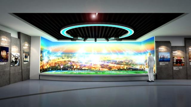 多媒体展厅设计公司因何走上了高速路?
