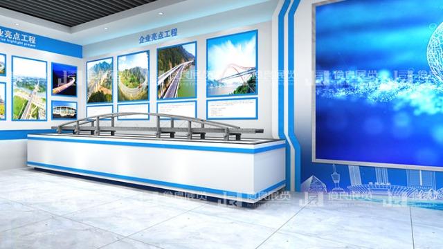 科技展厅设计可用绿色来增加亲和力吗?