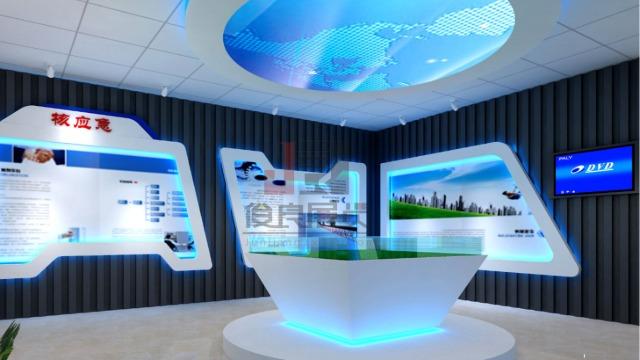 俊良多媒体展厅设计公司提供设计施工一站式服务
