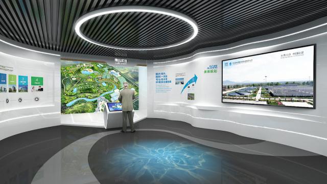 多媒体展厅设计公司文化展厅该如何设计?