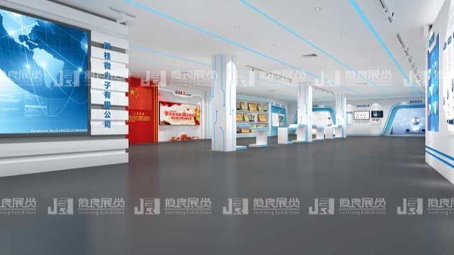 科技展厅设计中休息区的设计