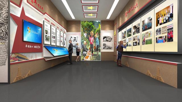 VR展厅设计,虚拟智慧党建馆