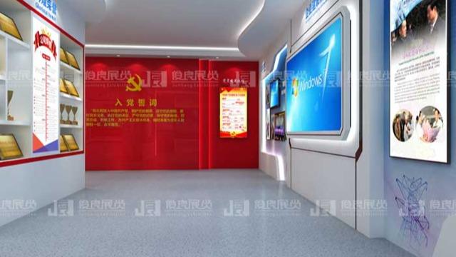 广西党建文化建设中展厅设计怎么做?