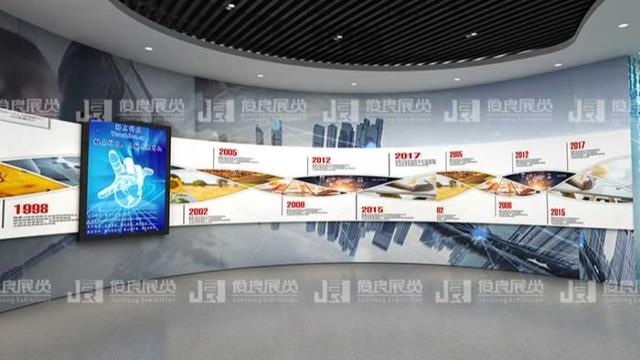 智慧展厅设计让你零距离体验企业魅力