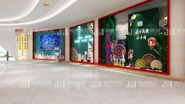 企业展厅设计方案有哪些部分组成?