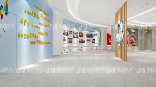 南宁展厅制作中的灯光设计