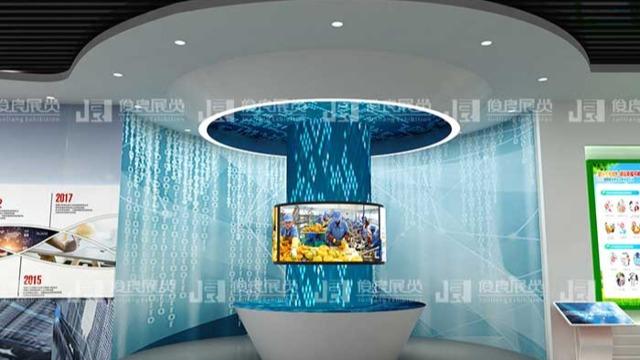 数字化展厅设计布局和风格样式