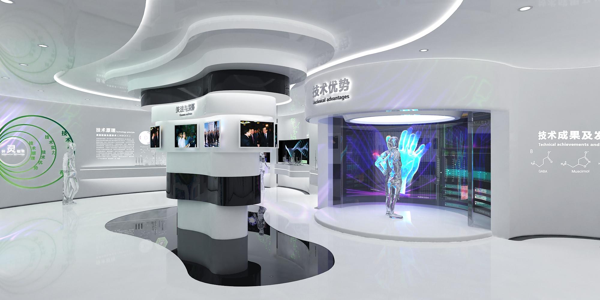 数字多媒体展馆设计