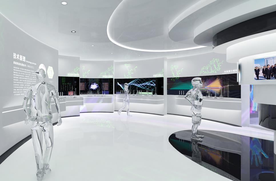 数字多媒体展厅设计