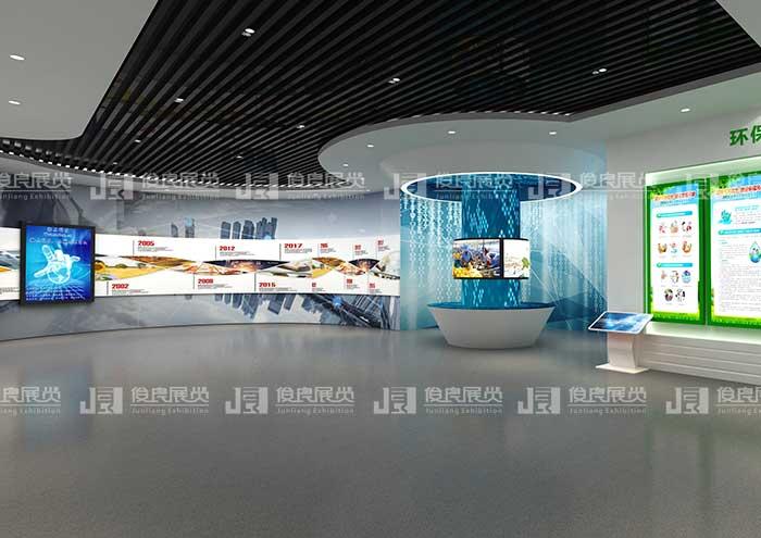 企业展厅设计方案