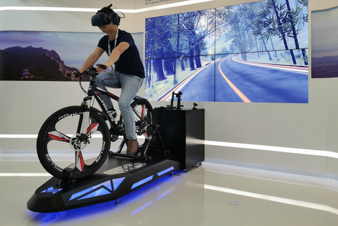 VR虚拟单车漫游